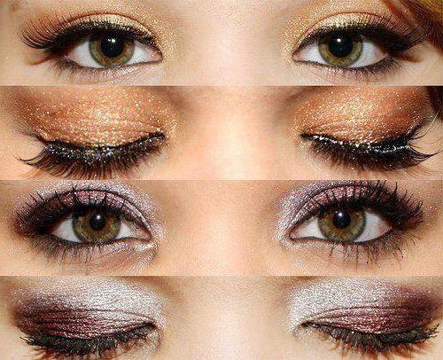 Šminka za velike zelene oči