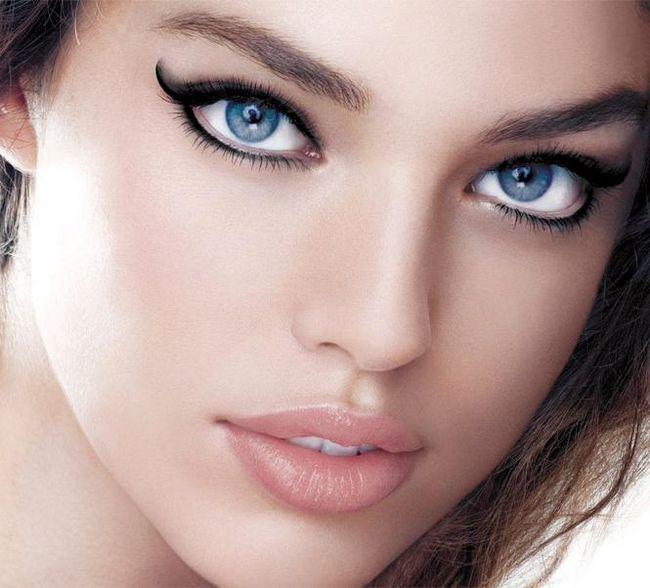 Šminka za velike plave oči