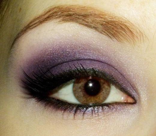 kako napraviti smeđe oči šminka