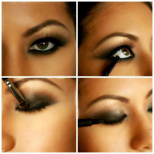 korak po korak fotografiju šminke oka
