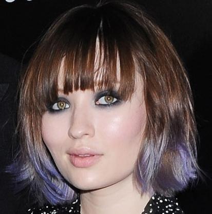 make-up za zeleno sive oči