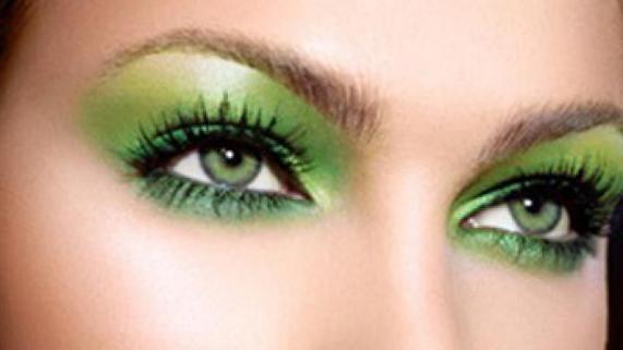 koje su sjene za zelene oči