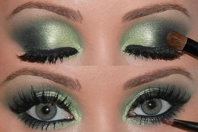 što se uklapa u zelene oči