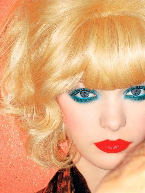 svijetle boje za plave oči