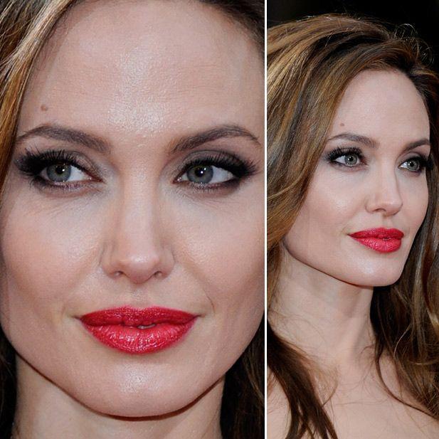 Večernja šminka Angeline Jolie