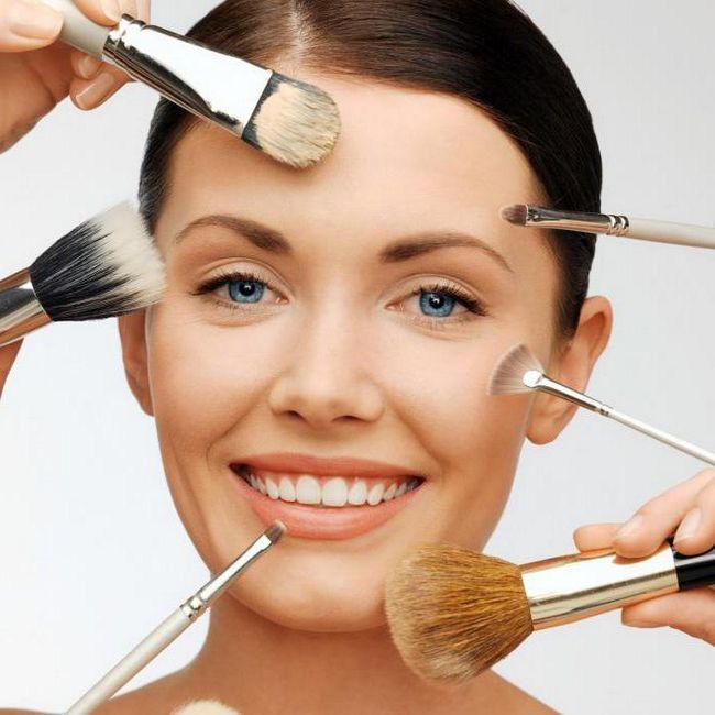 make-up za vjenčanje za goste smeđe oči
