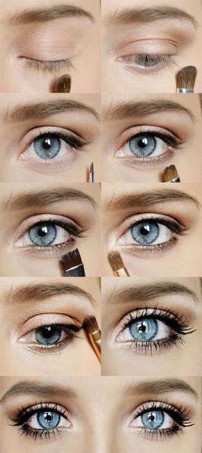 make-up u fotografiji s golim stilom
