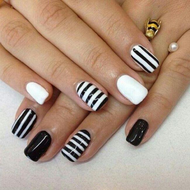 manikure na noktima