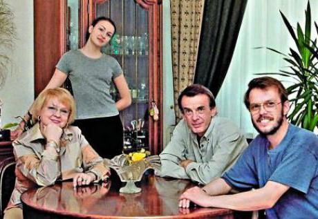 Ekaterina Markova i njezina obitelj