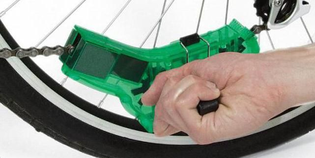 čistač lanca bicikla