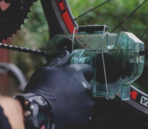 stroj za čišćenje lanca pregleda bicikla