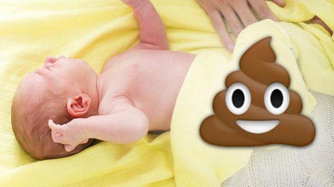 mekonij u novorođenčadi koliko dana