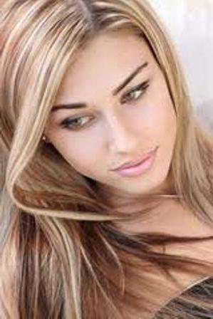 Melioracija kose na tamno-smeđoj kosi