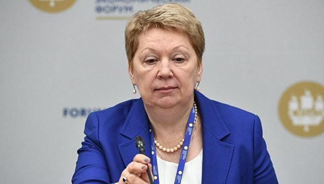 Tko je sada ministar obrazovanja u Rusiji?