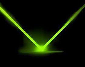snop monokromatskog svjetla