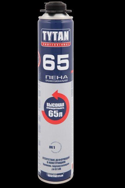 montažne specifikacije pjene titana 65