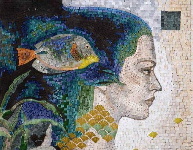 Мозаичная картина своими руками