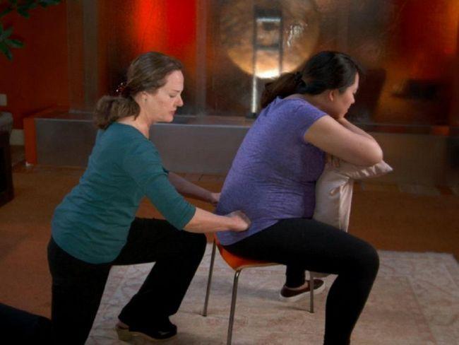 masaža leđa trudnicama