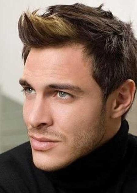 muške frizure s kratkom kosom