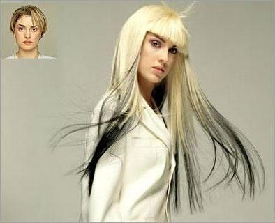 produžetak kose za kratku kosu