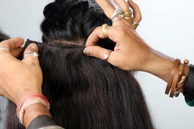 Trassovy ekstenzija kose