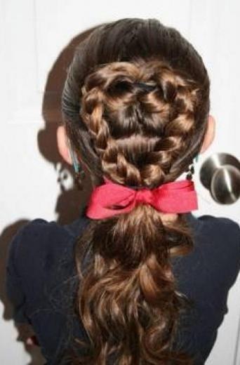 frizure za dugu kosu za djevojčice