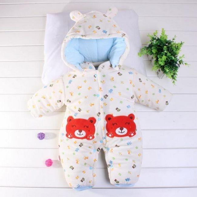 odjeća za zimsku novorođenčad