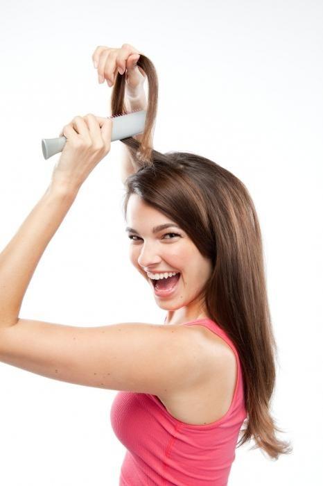 kako staviti kosu sebe