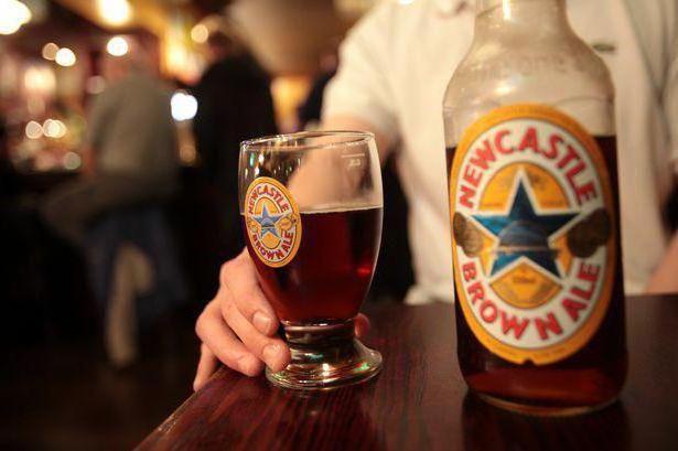 pivo newcastle brown ale