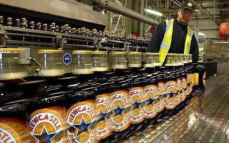 Newcastle nacrt piva