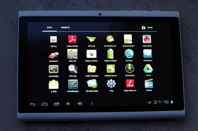Nova tableta Hyundai a7hd