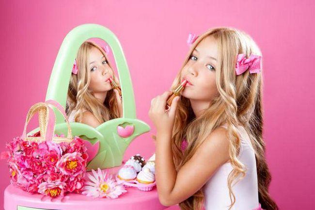 skup dječje ukrasne kozmetike