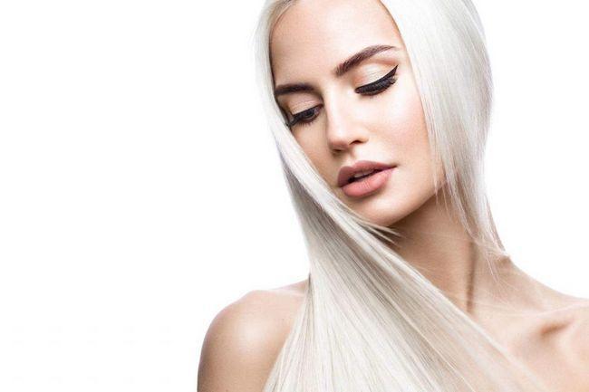 bijela kosa