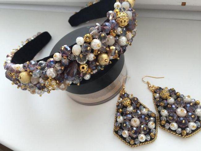 obrub kruna u stilu Dolce Gabbana