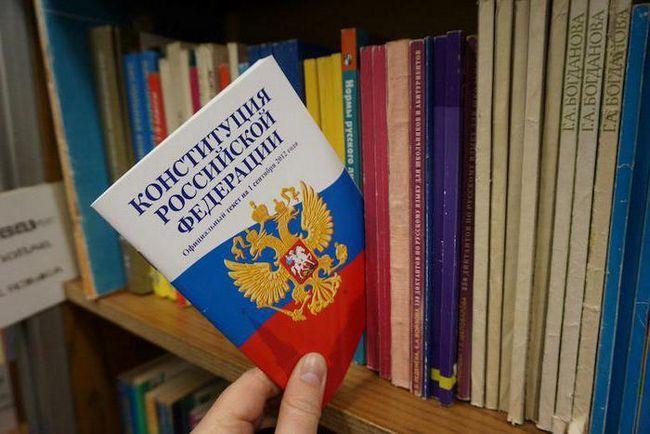 suština ustava Ruske Federacije