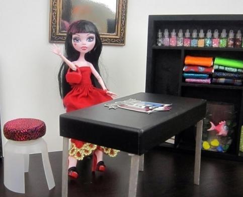 kako napraviti namještaj za lutke