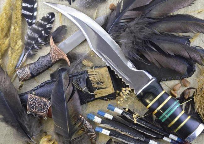 Охотничьи ножи своими руками: изготовление, чертежи, фото и форма лезвия