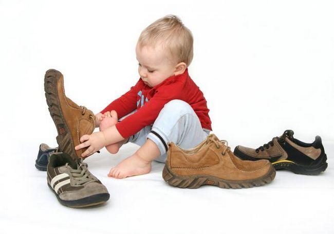 детский размер обуви таблица