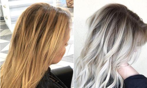 Fotografije prije i poslije slikanja