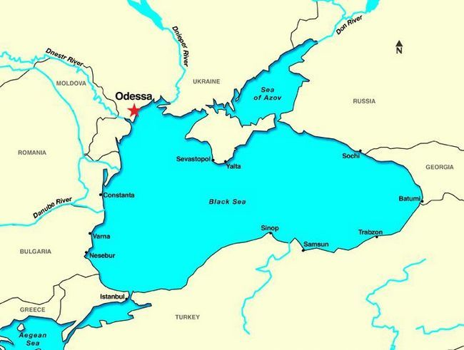 Освобождение Одессы в 1944 году. 10 апреля - день освобождения Одессы
