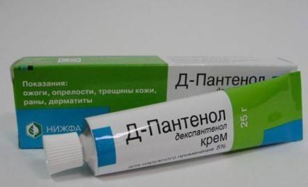 panthenol od bora na očima