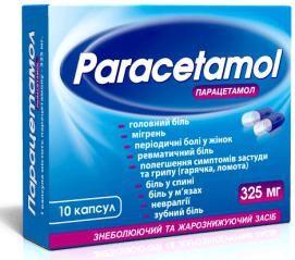 paracetamol 325 upute