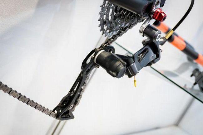 kako podesiti prekidač brzine na biciklu