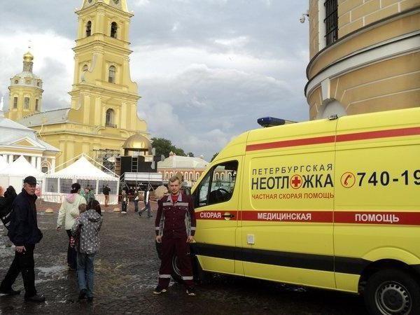 St. Petersburg ambulance spb