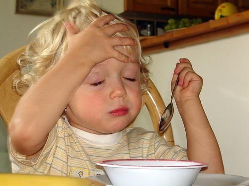 dijete ima glavobolju u glavi