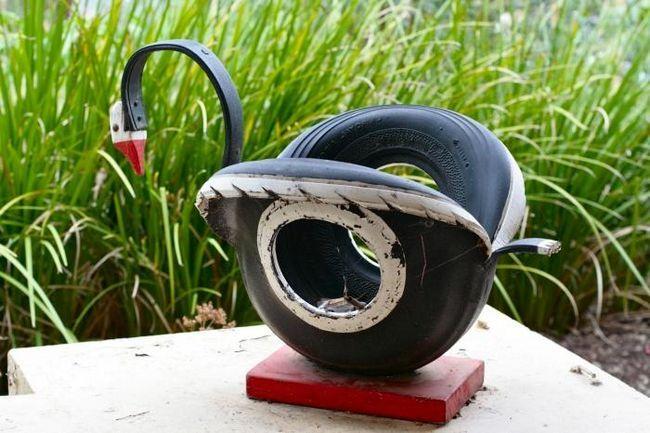Obrt za prigradski prostor. Kako izvući labud iz gume?