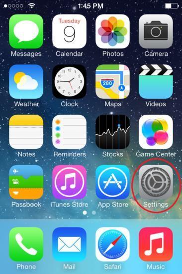 как поменять время на айфоне 4