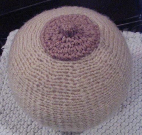 jastuk u obliku dojke