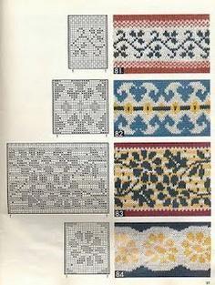obrasci za rukavice s iglama za pletenje