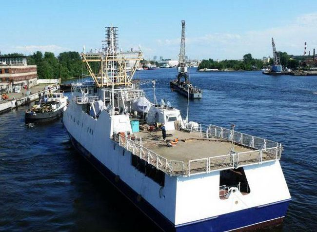 Border patrolni brod projekta 22460